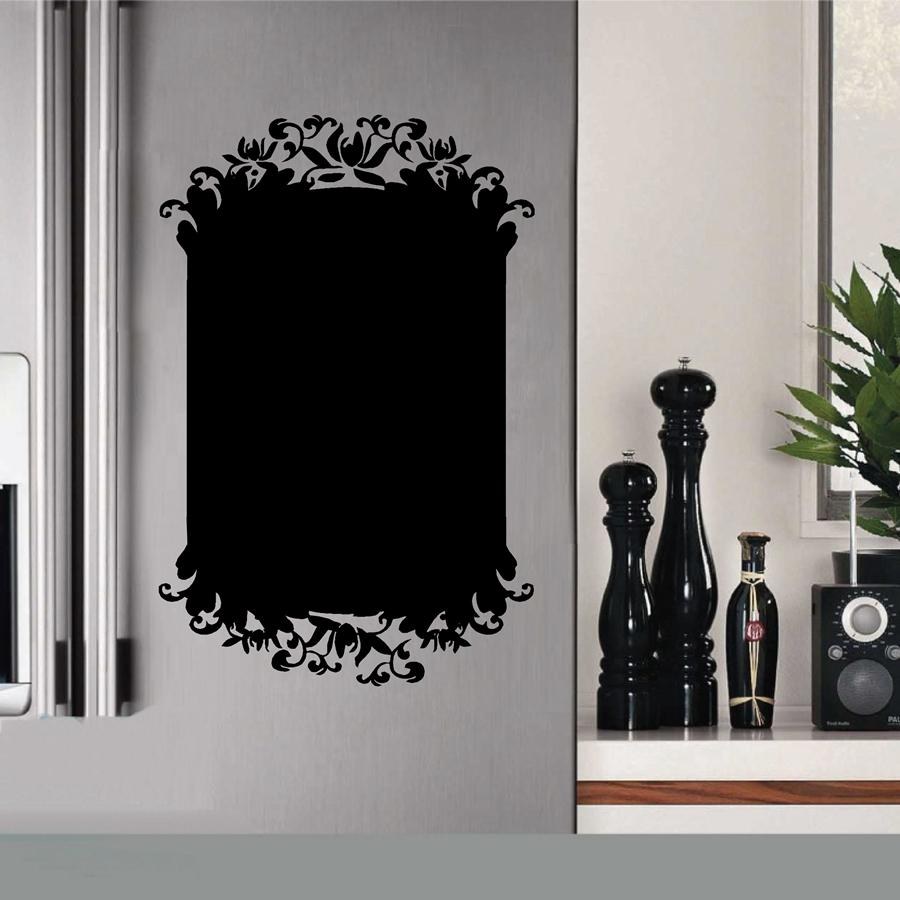 new design kitchen chalkboard wall stickers modern home. Black Bedroom Furniture Sets. Home Design Ideas