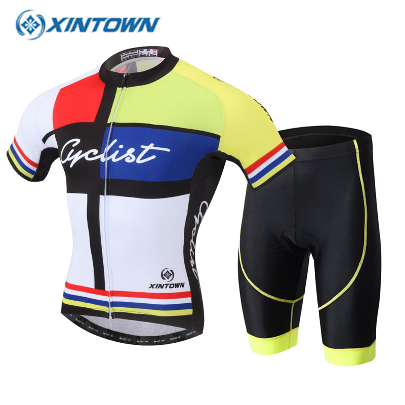 XINTOWN 2017 Pro Cycling Jersey Bike Short Sleeve Summer Quick Dry Breathable Bicycle Wear Cycling Maillot Clothing quick dry breathable cycling bike jersey short sleeve summer spring women shirt bicycle wear racing tops pants sports clothing