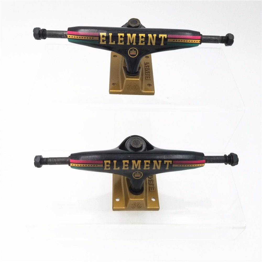 ELEMENT High Quality Skateboard Trucks 5 25 5 5 7 inch Skate Board Truck Aluminum Skateboarding Bridge in Skate Board from Sports Entertainment