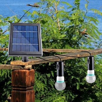 Waterproof Courtyard Lamps Led Solar Light Bulb Outdoor Solar Lamp Camping For Garden Domestic Lighting LED Lights
