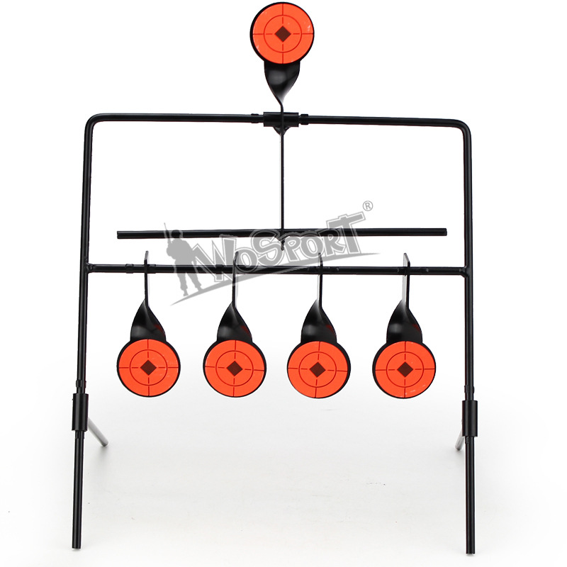 Outdoor Indoor Wind-bell Target Shooting Airsoft Paintball Hunting Shooting Training 4 Targets