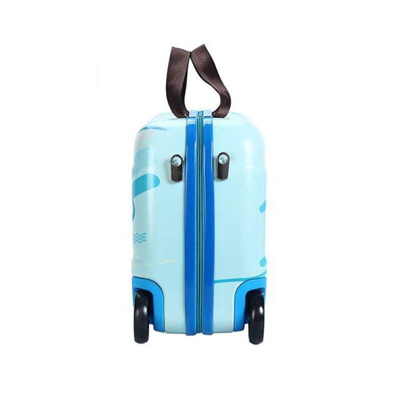 Dla dzieci dla dzieci jeździć w walizka dla dzieci dla dzieci jeździć w walizka do gry w kręgle walizka dla chłopiec na pokład ciągnięcie przypadki dla dziewczyn w Walizki od Bagaże i torby na  Grupa 3