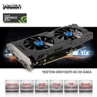 Yeston NVIDIA GeForce GTX 1050 Ti GPU 4GB GDDR5 128 Bit Gaming Desktop Computer PC Support