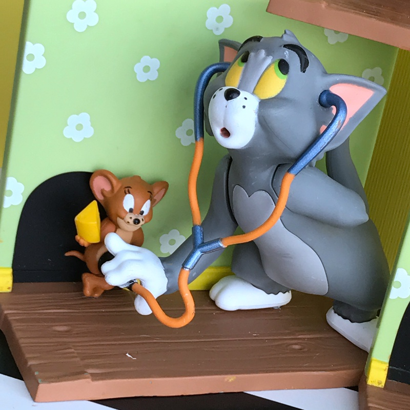 Original Garage Kit Classic Toy Cartoon Tom and Jerry Cat and Mice Dolls Action Figure Collectible Model Loose Toy In Stock Kids
