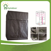 Бесплатная доставка 60*60*160 или 200 СМ 24*24*64/80 INCH Расти палатка with Adjustable Extension kit