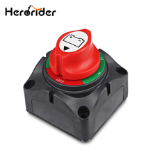 цена на Car Marine Boat Battery Switch Battery Disconnect Isolator 4 Position Switch For Truck Yacht RV 1000A 8mm Stud 12V/24V