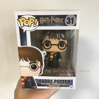 Hot Topic Exclusive Funko pop Official Harry Potter Harry Potter with Hedwig Vinyl Figure Collectible Model Toy