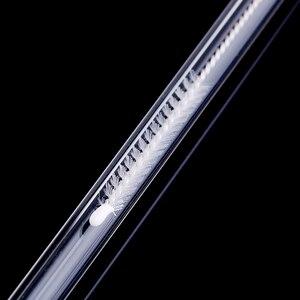 Image 4 - 4 szt. Proste szkło Tube słomka do picia wielokrotnego użytku przyssawka z szczotkami do czyszczenia akcesoria imprezowe