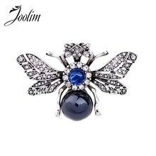 Фотография JOOLIM Jewelry Wholesale/2017 Quality Pearl Women Brooch costume jewelry Free Shipping