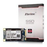 Zheino Q2 mSATA 64 GB SSD SATA3 Unidad de Estado Sólido Para Intel Samsung Gigabyte Thinkpad Lenovo Acer Laptop HP Mini PC de la Tableta de la PC
