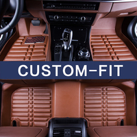 2017 Arrival High Class Custom Fit Car Interior Floor Mats For Ford Edge Focus Mondeo Kuga