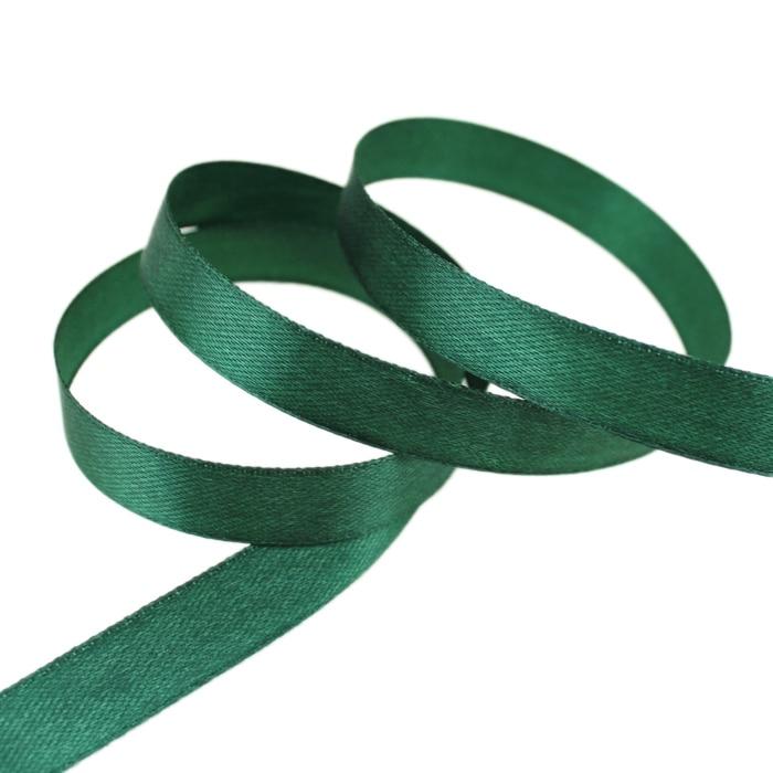 25 ярдов/рулон) атласная лента оптом, подарочная упаковка, рождественские украшения сделай сам, с лентой, с местом для рулон ткани(6/10/12/15/20/25/40 мм - Цвет: Atrovirens