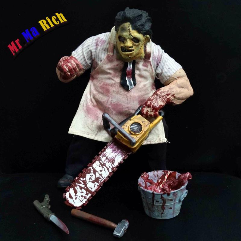 "Film The Texas Chainsaw Massacre Leatherface Horror Action Figure 8 ""horrible Statua Da Collezione RegaloFilm The Texas Chainsaw Massacre Leatherface Horror Action Figure 8 ""horrible Statua Da Collezione Regalo"