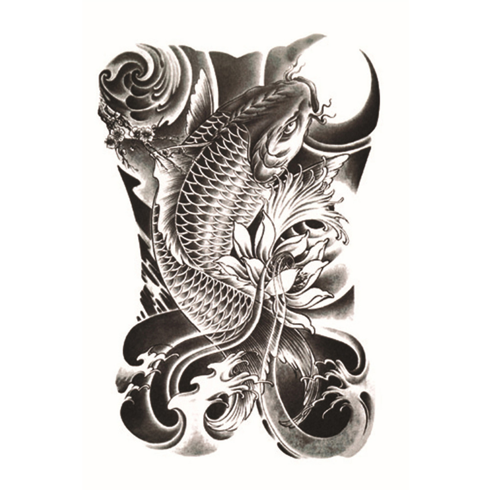 Online buy wholesale koi tattoo from china koi tattoo for Japanese koi fish wholesale