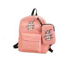 Cartoon Backpack for Girls Big Cute Bookbags Lightweight knapsack Bags for Primary Students Aniaml Book Bag