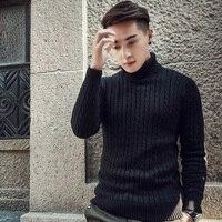 2019 осень зима толстые теплые кашемировые Мужская водолазка для мужчин бренд s свитеры для женщин Slim Fit пуловер Трикотаж Двойной воротн
