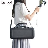 Cewaal Photography Bag Black Outdoors Drone Durable Beautiful Photography Portable Bag for Zhiyun Smooth4