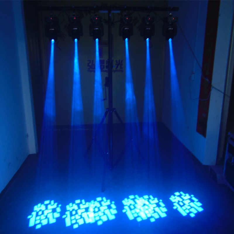 60W Lampu LED Mini Moving Head Light DJ Disko Partai Musik Gobo Tahap Efek Pencahayaan