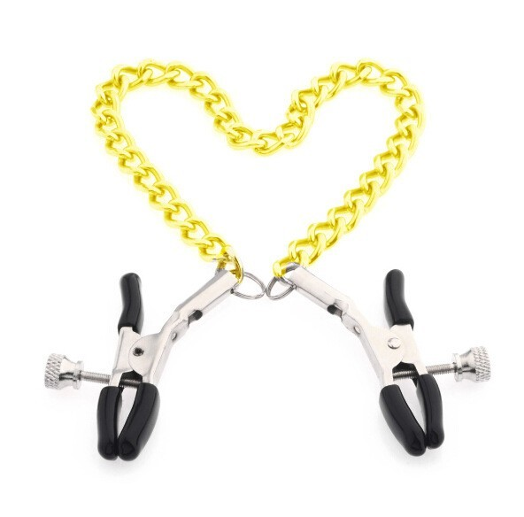 gold chain fetish nipple clamps shaking milk stimulate for couple men female breast clitoris clip massage cosplay slave sex toys
