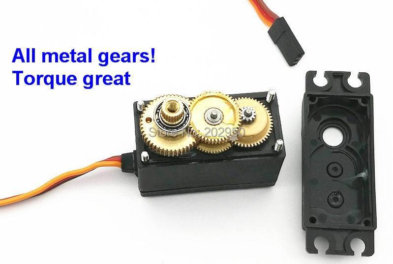 Buy 1piece servo 360 degree continuous for Servo motor high torque