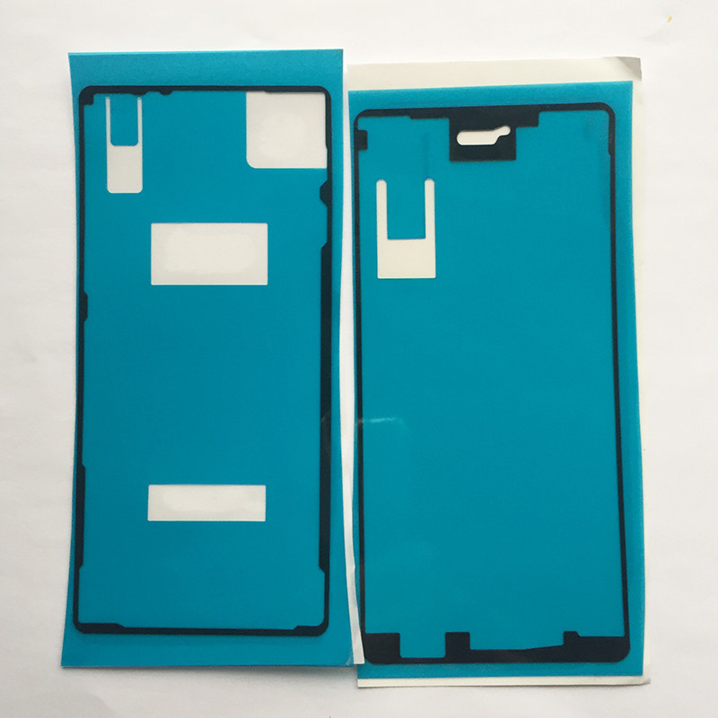2x LCD Housing Frame Back Battery Cover Adhesive Tape Waterproof Sticker For Sony Xperia X F5121 F5122