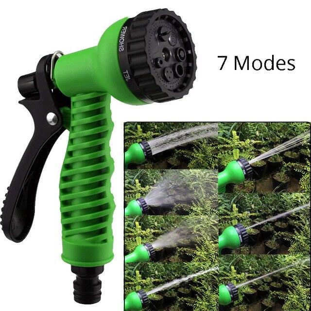 Pulverizadores De Água jardim 7 Padrões Pistola de Água do Agregado Familiar Pistola para a Lavagem Do Carro de Limpeza Da Mangueira de Rega Do Gramado Jardim Rega