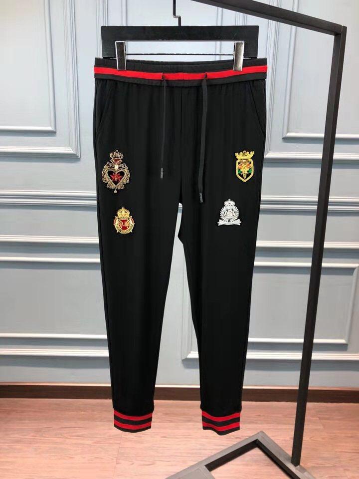 Europeo La Pista Fiesta De Lujo Famosa Los Ah03716 Diseño Hombres Moda 2019 Pantalones Estilo Marca Ropa Bf7xtq