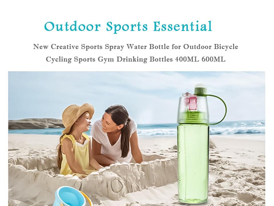 HTB1tnOHXBr0gK0jSZFnq6zRRXXag New 400/600Ml 3 Color Solid Plastic Spray Cool Summer Sport Water Bottle Portable Climbing Outdoor Bike Shaker My Water Bottles