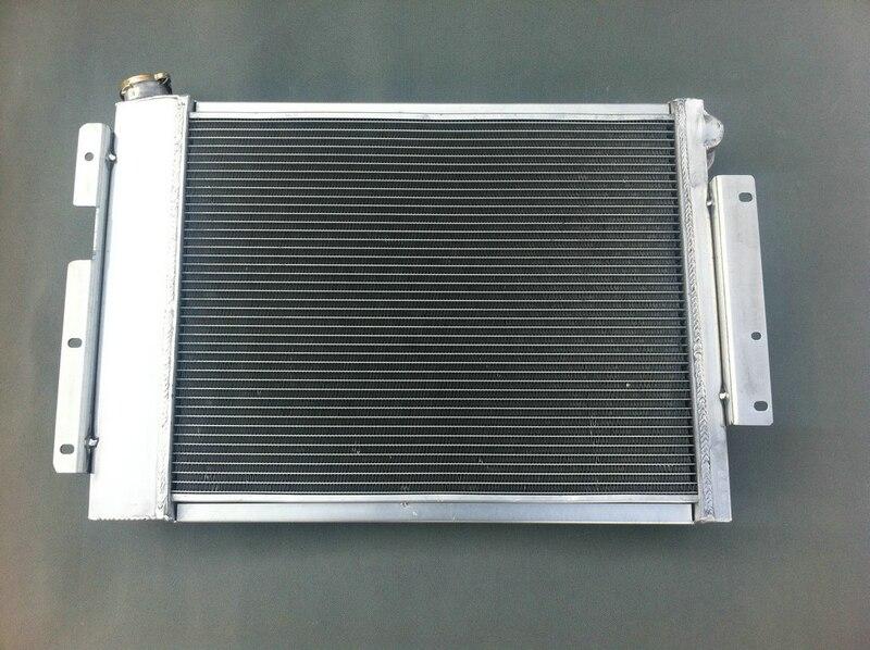 3 Core Aluminum Radiator for 1968-1973 Chevy Chevelle L6 V8 68 69 70 71 72 73