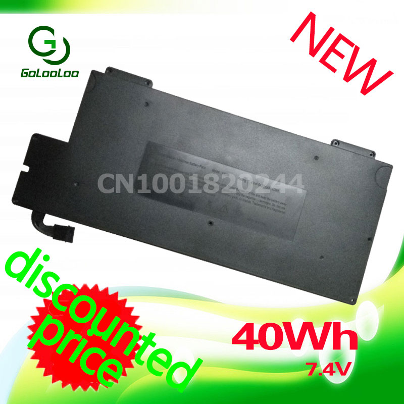 Golooloo For Apple 7.4V 40Wh A1237 A1245 661-4587 Laptop battery For MacBook 13 Air Series A1304 MB003 MC233 Z0FS компьютерные аксессуары for apple macbook air 10 apple macbook air a1237 a1304 mb003 mc233 mc234 2008 2009