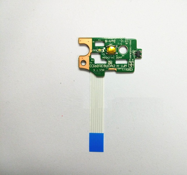 For HP pavilion 15-n series POWER BUTTON BOARD da0u83pb6e0 W//Ribbon 732076-001