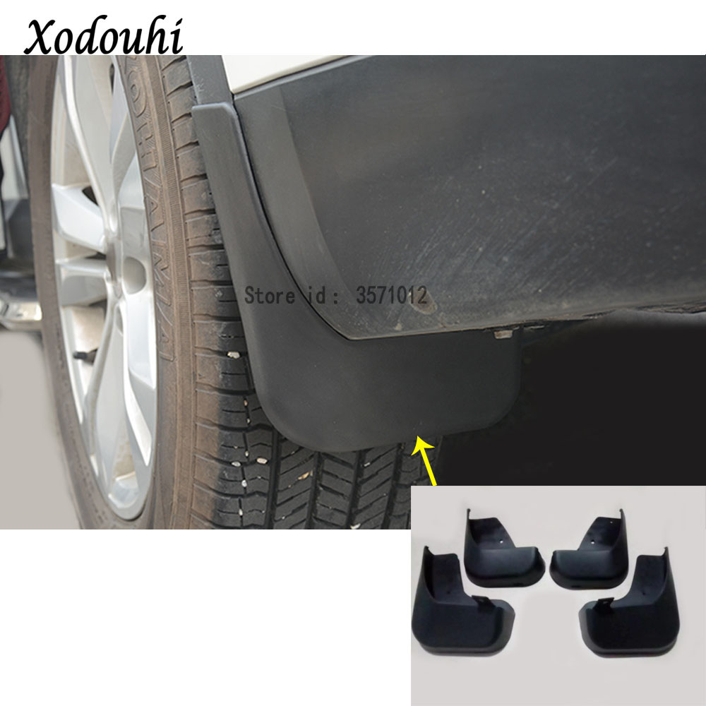 Ultra Soft Car Fender Covers: For Renault Koleos 2017 2018 2019 Car Styling Cover