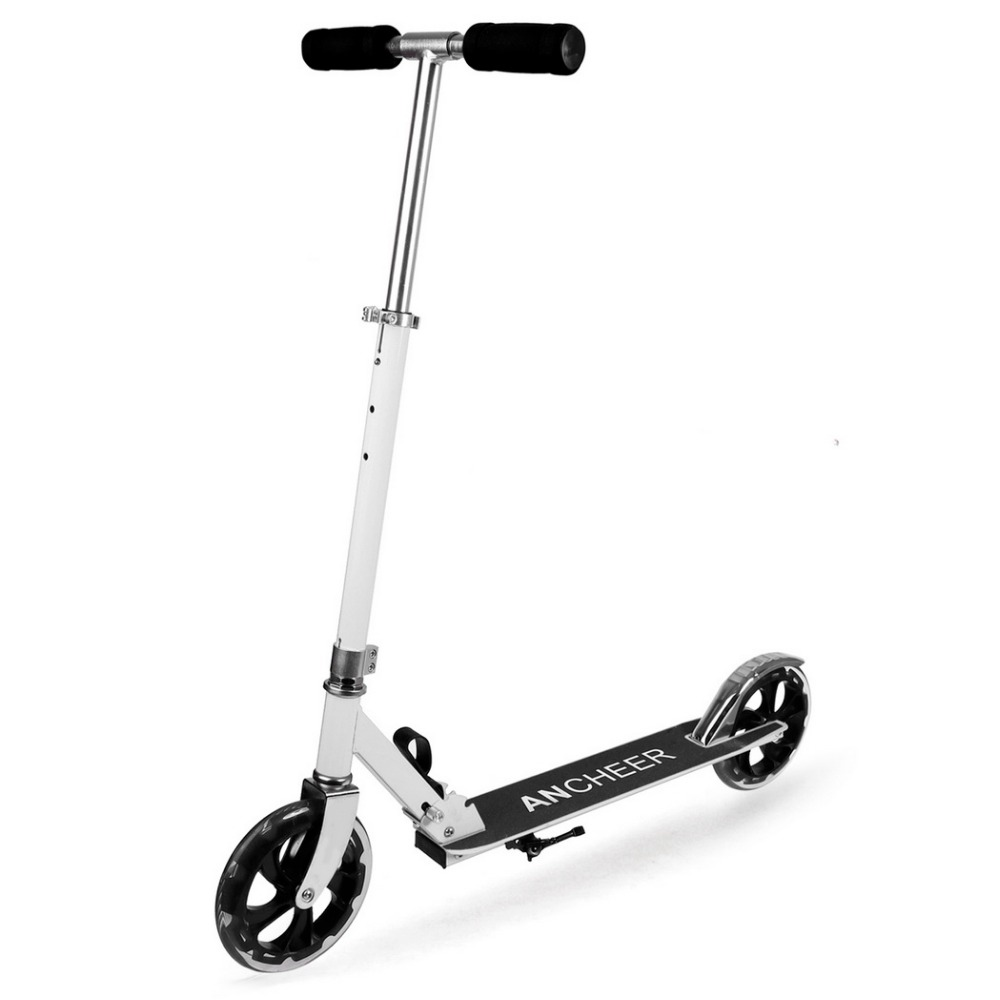 Ancheer New Adult Scooter Kick Scooters For Adult Folding Portable Trotinete Scooter Adjustable Patinete Adulto Clearance ancheer new adult scooter adjustable height 2 wheel kick scooter foldable 3 levels foot scooters wakeboard