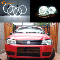 For FIAT PALIO 2004 2005 2006 headlight Excellent Ultra bright illumination CCFL Angel Eyes kit Halo Ring