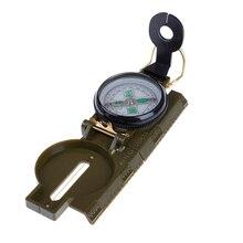 Портативный складной компас для походов, кемпинга, походов в армейском стиле, походов на выживание, военный линзатический компас, 3 в 1, Компас для путешествий