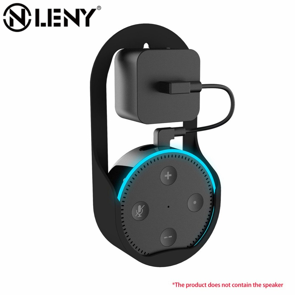 For ECHO DOT2 Wall Mount Generation 2 Speaker Bracket Holder Protective Case Hanger Loop Home Decor Transfer Realistic Sound