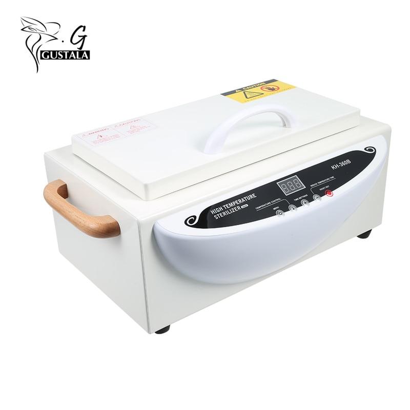 Gustala 220V Suhu Tinggi Sterilizer Kuku Manicure Elektrik Alat - Seni kuku