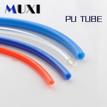 цена на 1 Meter 4*2.5mm 6*4mm 8*5mm 10*6.5mm 12*8mm 14*10mm 16*12mm For Pneumatic Parts Pneumatic Component Pu Tube Air Hose Pipe