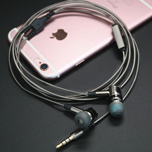 Image 4 - TRANSCTEGO earphones and headphone with microphone In Ear metal plug wire headset detachable removable headsets