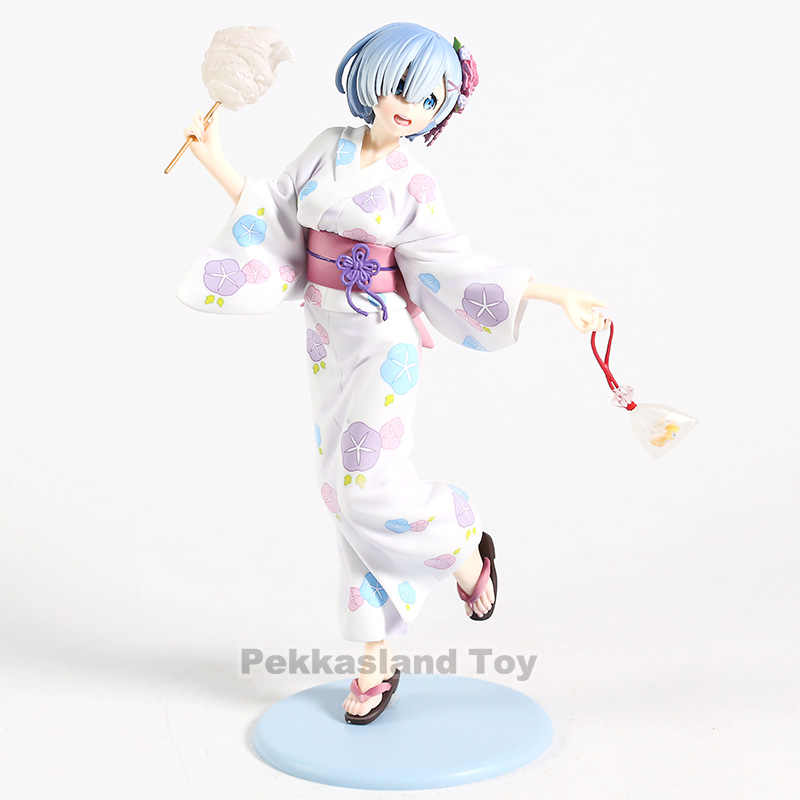 Anime Re Life In A different world From Zero Rem Yukata Ver PVC Figure Toys