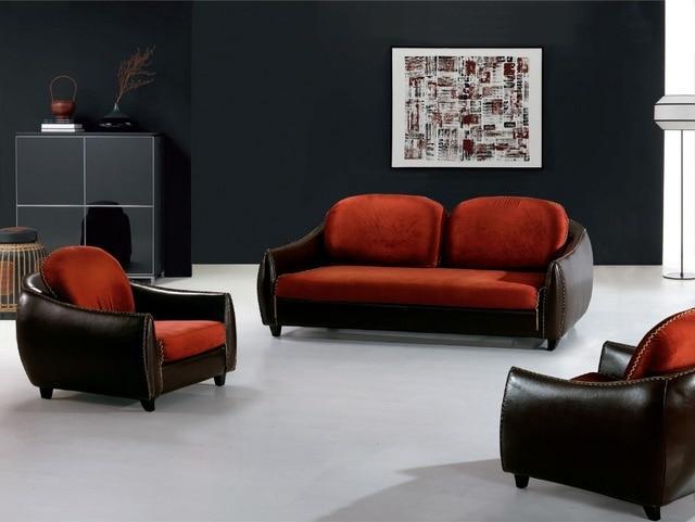 Tela de lino sofá conjunto muebles para el hogar sofá/Tela de ...