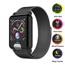 ECG PPG Smart Watch Heart Rate Monitor Smart Fitness Tracker