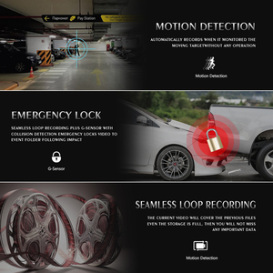 Image 3 - 3 pulgadas Full HD 1080P cámara de coche DVR conducción coche grabadora vehículo Dashcam Video registrador visión nocturna G  sensor Dash Cam DVRs