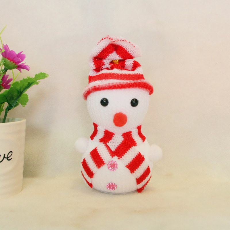 Hot Sale 12 Pcslot Christmas Tree Ornamentsmini Snowman Hanging