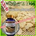 (Купить 3 Получить 1 Бесплатно) Американского женьшеня, экстракт корня гинзенозиды 80% Поддерживает Сексуальную Энергию Стресса 500 мг * 100 Мягких капсула