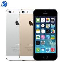 """Разблокированный Apple iphone 5S с отпечатком пальца сотовые телефоны iOS 4,"""" ips gps 8MP 16 Гб/32 ГБ б/у мобильный телефон подлинный iphone 5S"""