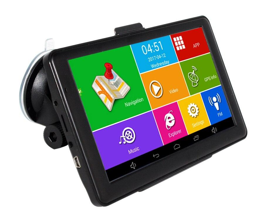 TOPSOURCE Android Car GPS Navigation WIFI Bluetooth FM automobile navigator on