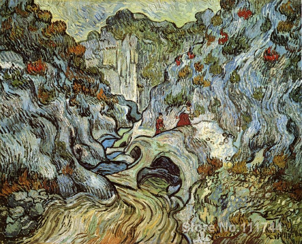 Resultado de imagen de imágenes de cuadros sobre barrancos o montañas
