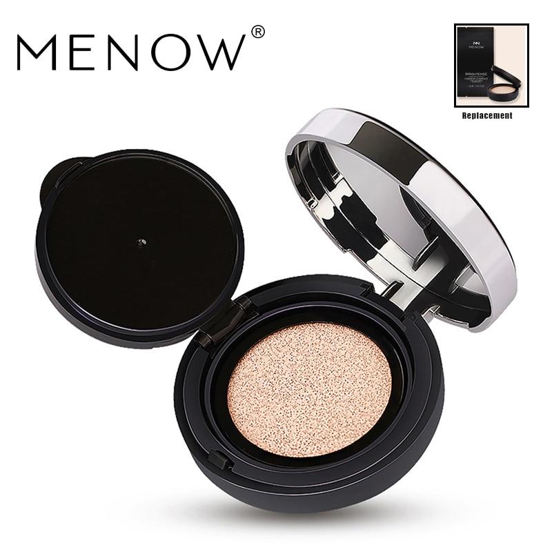 MENOW Brand Air cushion BB & CC Creams Moisturizing Lasting Makeup Concealer Liquid Foundation Face care Cream drop ship L1507 цена и фото
