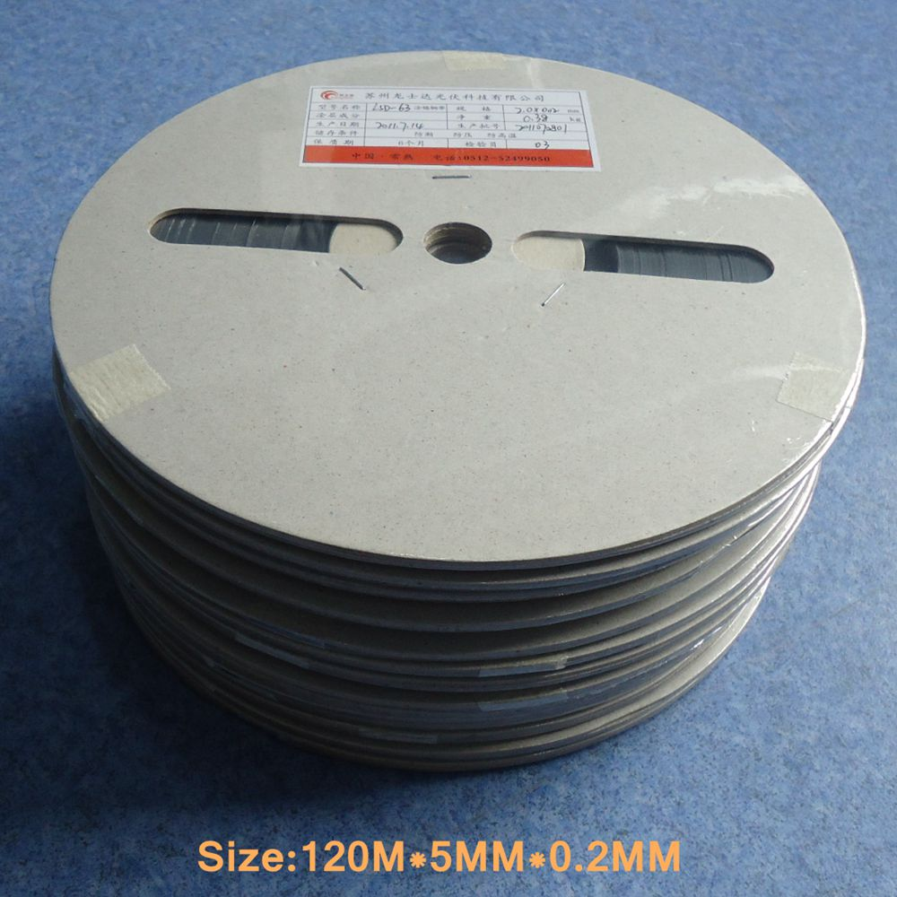 100M 5MM 0 2MM Photovoltaic Solar Cells Bus Busbar Wire For Solder Solar Panel